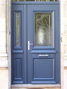 porte d entree en aluminium dootdadoocom idees de With porte d entrée alu avec meuble salle de bain teck