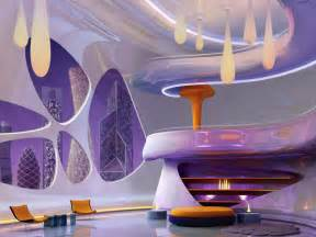 Futuristic Family Room Tags: futuristic living room