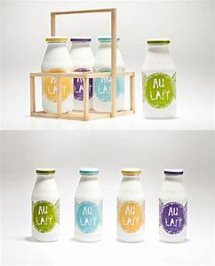 milk packaging designs for inspiration graphicloads With bottle packaging design templates