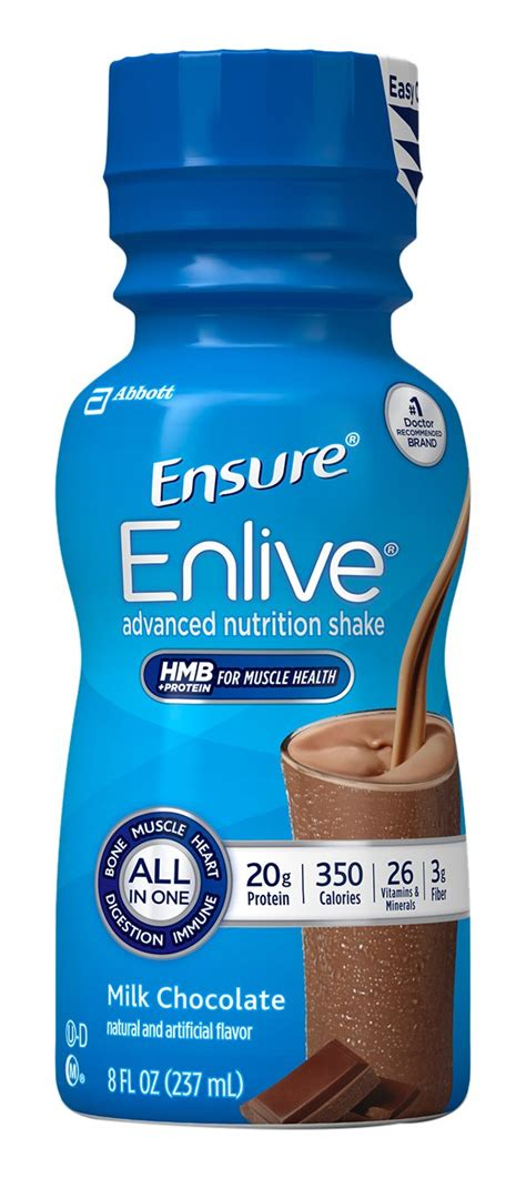 Amazon.com: Ensure Enlive Nutrition Shake, Vanilla, 12