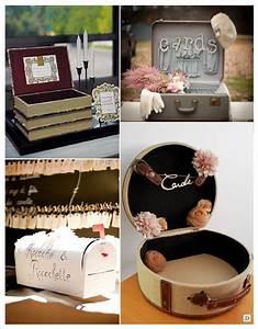 Boite Aux Lettres Americaine : urne mariage retro vintage boite livre valise boite aux ~ Dailycaller-alerts.com Idées de Décoration