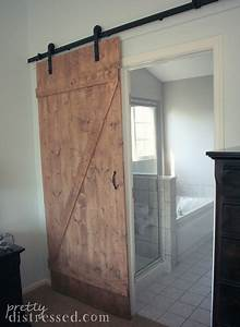 pretty distressed diy distressed sliding barn door With barn door store near me