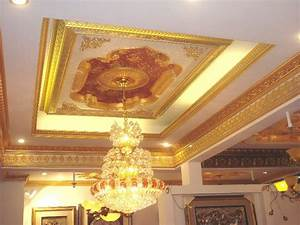 Home ceiling design for the living room unnichome for Applying the harmony to your living room paintings