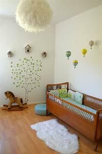 deco chambre bebe la chambre nature et poetique de noah With déco chambre bébé pas cher avec livrer des roses