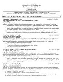 aircraft avionics technician resume avionics resume collins