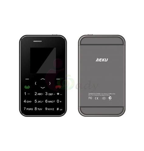 Mobile Mp4 by Slim Mini Card Aeku Mobile Cell Phone Touch Keypad Mp4 Mp3