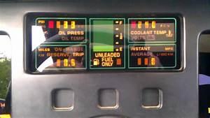 1984 C4 Corvette Digital Dash Sunburn Repair