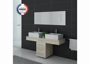 Meuble Salle De Bain 140 Cm Double Vasque : meuble de salle de bain 140 cm double vasque meuble ~ Dailycaller-alerts.com Idées de Décoration