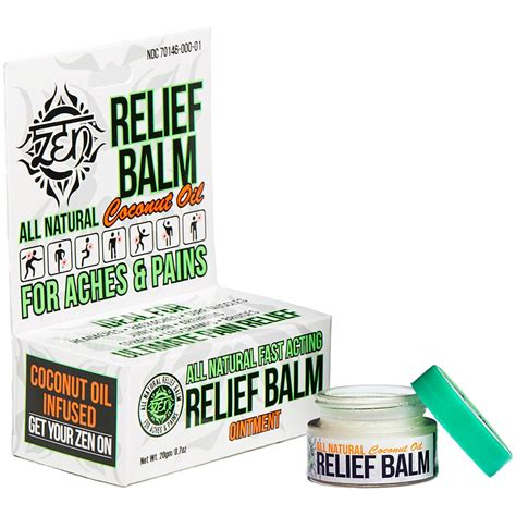 All Natural Pain Relief Balm | Pain Relievers | Beauty ...