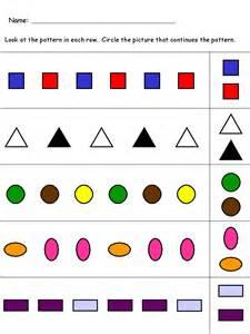 kindergarten worksheets maths worksheets pattern recognition - Printable Alphabets Worksheets