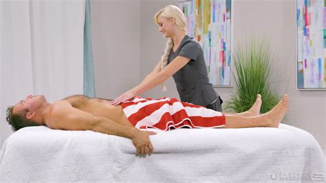 Exclusive Sex On The Massage Table For The Slim Masseuse