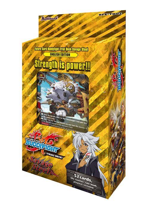 trial deck  savage steel future card buddyfight wiki