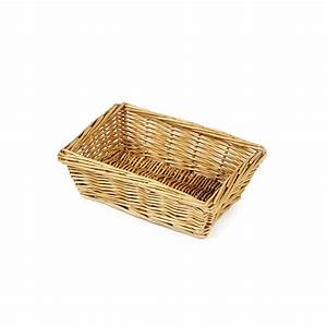 Rectangular, Wicker, Baskets