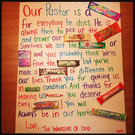 Joy, heart and happiness is mostly what she'll bring. Pastor appreciation month | Youth Group | Pinterest ...