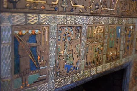 Tofasco Of America Chair by Pewabic Tile In Detroit 28 Images Pewabic Fireplace