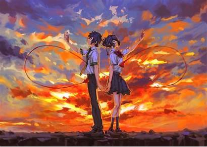 Kimi Wa Na Anime Mitsuha Miyamizu Android