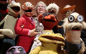Jane Henson in Jim Hensen Muppet Characters Donated To ...