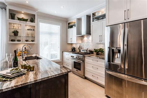 armoire de cuisine stratifi cuisine contemporaine fabricant d armoires sur mesure