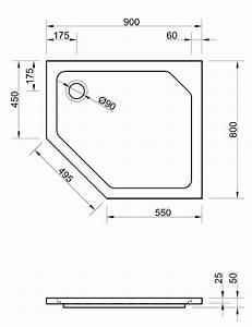 Holztisch 80 X 80 : duschwanne f nfeck 90 x 80 x 2 5 cm duschwanne duschtasse f nfeck f nfeckduschwanne 90x90 ~ Bigdaddyawards.com Haus und Dekorationen
