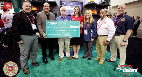 Bullard Donates to the Firefighter Cancer Support Network ...