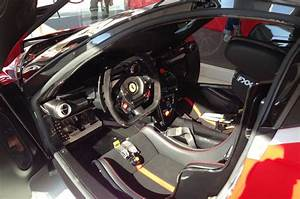 Ferrari FXX K at World Finals in Abu Dhabi - interior ...