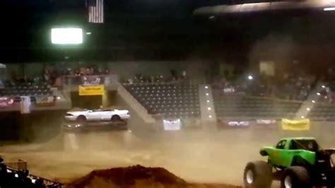 monster truck show redmond oregon monster truck back flip youtube