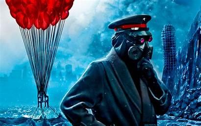 Apocalyptic Romantically Gas Dark Digital Masks Vitaly