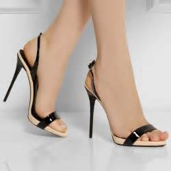 black open toe bottom women thin high heel shoes