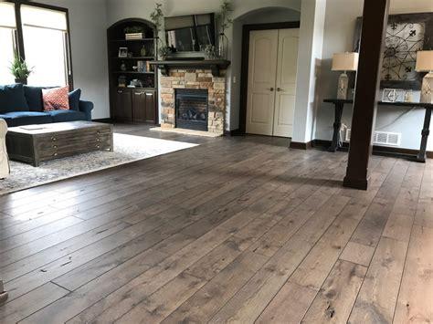 beautiful wood flooring project  custom creations morris flooring design