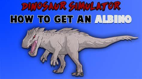 roblox dinosaur simulator     albino terror