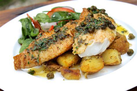 fish sauce herb fried pan butter nz lemon capers crispy recipes recipe deep cart snapper caper fryer seafood fry frying