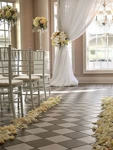 aisle decor archives weddings romantique With indoor wedding photos