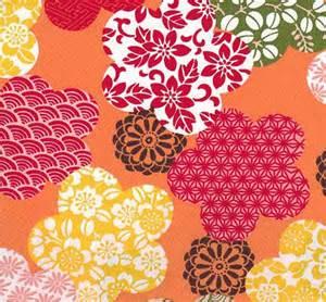 Japanese Floral Design Patterns