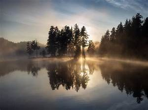 Nature, Water, Reflection, Landscape, Trees, Wallpapers, Hd