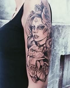 Tattoo Homme Bras : tatouage visage femme bras ~ Melissatoandfro.com Idées de Décoration