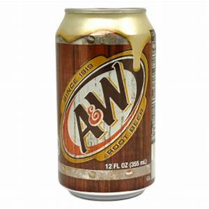 a w root beer logo