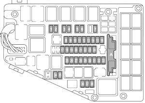 F 15e Engine Compartment Diagram by Subaru Outback 2016 Fuse Box Diagram Auto Genius