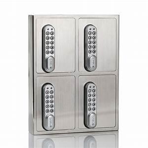 Schlüsseltresor Mit Code : schl sselsafe 1420 mit 4 separaten f chern ~ Orissabook.com Haus und Dekorationen