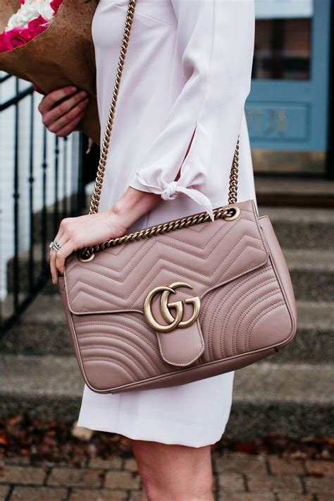 valentines day outfit ideas sequins stripes gucci marmont bag bags luxury handbags