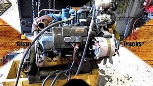 1998 International T444e Diesel Engine Running 174k Miles
