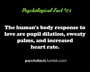 psychological facts on Tumblr