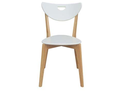 chaise blanche conforama chaise skine coloris blanc vente de chaise conforama