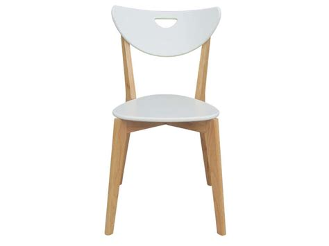 chaise haute cuisine alinea chaise skine coloris blanc vente de chaise conforama
