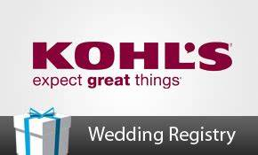 nick and angela39s wedding registry With kohl s gift registry wedding