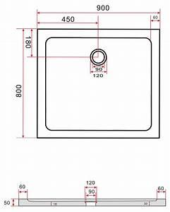 Glastisch 80 X 80 Cm : 80 x 90 cm duschtasse 50 mm flach acryl duschwanne dusche acrylwanne ebay ~ Bigdaddyawards.com Haus und Dekorationen