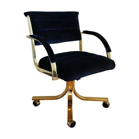 navy blue desk chair pin by chairish on office pinterest
