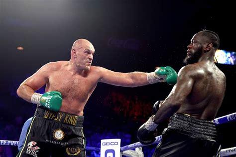 Tyson Fury declares