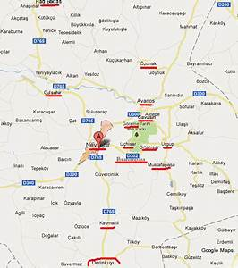 Turkey Map Urgup