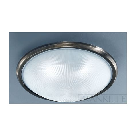 cf5050el flush ceiling light glass bronze