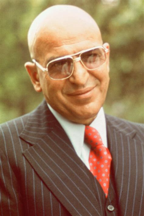 telly savalas kojak  suit smiling color poster print ebay